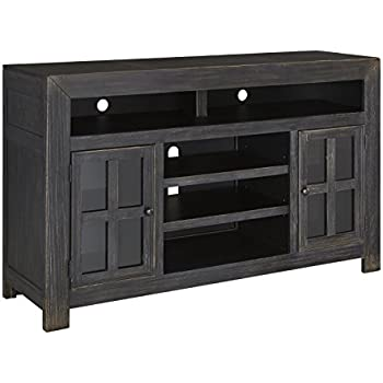 bbdb828150e Ashley Furniture Signature Design - Gavelston TV Stand - Electric Fireplace  - Entertainment Console - 61