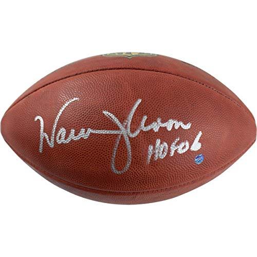(Warren Moon Signed Wilson Official NFL Football w/