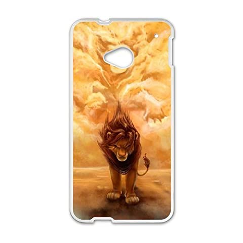 HTC One M7 Phone Case The Lion King Q22Q389159 (Lion King Htc One M7 Case)