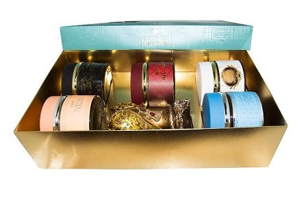 Assorted Oudh Incense Gift Set by Nabeel (5 Oudh Incense and a Burner) by Nabeel
