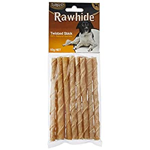 Playmate Rawhide Twisted 15 Sticks Treat 60g Click on image for further info.