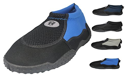 Mens Water Shoes Aqua Socks - high durability, comfortable to wear in water and on surface