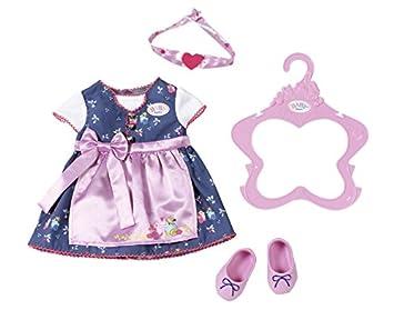 Zapf Creation 824504 Baby Born Dirndl, bunt
