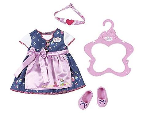 Spielzeug Zapf Creation 824481 Baby Born Sommerkleid Set Mit Pins Bunt