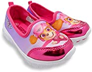 PAW Patrol Skye Girls Pink Toddler Casual Athletic Shoes Loafer