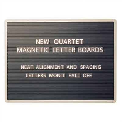 QRT903M - Quartet Magnetic Wall Mount Letter Board by Quartet