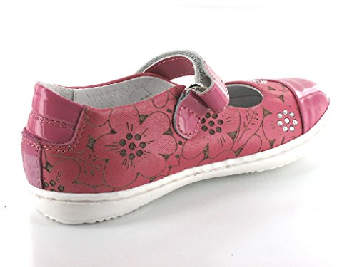 Chérie 841 Fuxia Kinder Spangenschuh in Mittel Pink