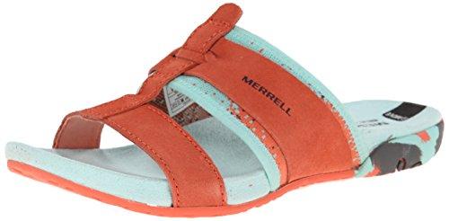 Merrell  Mimix Bay, Damen Zehentrenner Coral