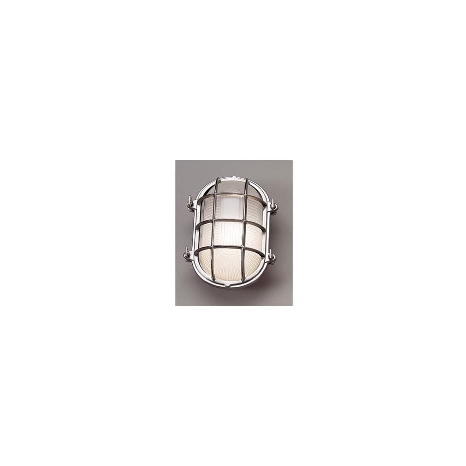 Norwell Lighting 1101 FRCH Polished Chrome Indoor & Outdoor Lighting 1 Light Wall Mounted Outdoor Lighting