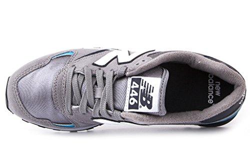 New Balance Mann Sneakers U446BG, 38.5 Grau/Blau