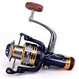 Fishing Reel10+1 BB 5.1:1 Smooth Spinning Reel Fishing Reel Carp Aluminum Wire Cup