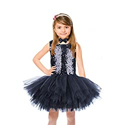 Girls Sequin Mermaid Party Dress