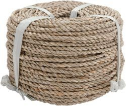 Bulk Buy: Commonwealth Basket Basketry Sea Grass #1 3mmx3.5mm 1 Pound Coil Approximately 210' SEA1X1 (3-Pack) Inc.