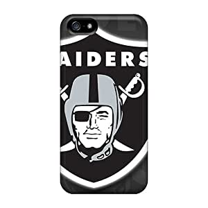 Hot Style Qfi7638pajd Protective Cases Covers For Iphone5/5s(oakland Raiders)