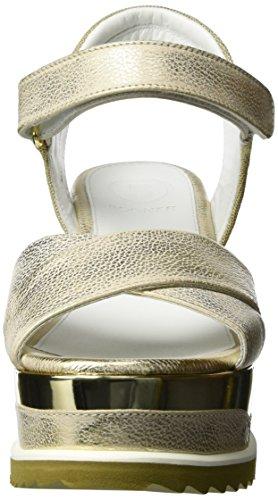 Bogner Cannes 4a - Sandalias Mujer Gold (platinum)