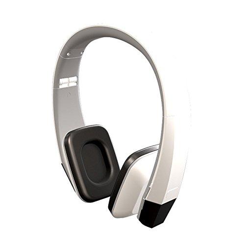 Power Acoustik HIR-1W 1-Channel Wireless Ir Headphones (Snow White)