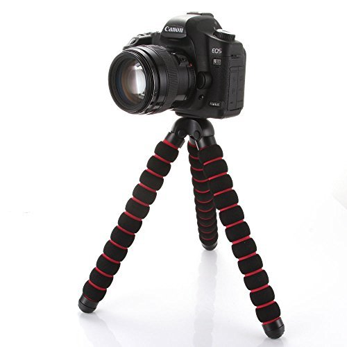 Fotga Large Octopus Flexible Portable Camera DV Tripod 1/4
