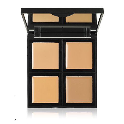 e.l.f. Foundation Palette, Light/Medium, 0.43 Ounce