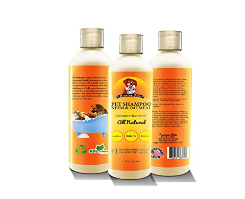 Premium-Pets-Oatmeal-and-Neem-Oil-Dog-Shampoo-and-Conditioner-17-oz