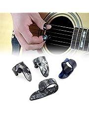Thumb Finger Picks Plectrum,1 Thumb + 3 Finger Acoustic Nail