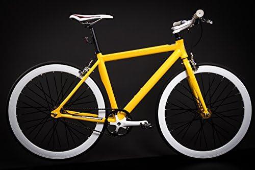 28 pulgadas Aluminio Bicicleta Single Speed Fitness Bicicleta ...