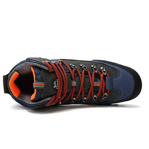 Pictures of CUNGE Hiking Boots Mens Waterproof Leather Trekking 8