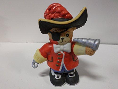 Lucy & Me Series (Enesco) **Bear Dressed as Captain Hook Figurine** 107508