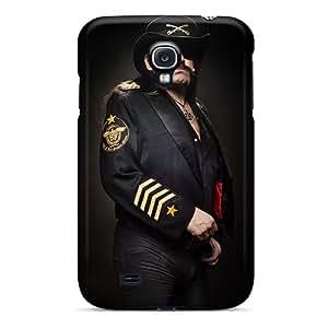 Bumper Hard Phone Cover For Samsung Galaxy S4 (Xqi1124sxnP) Support Personal Customs Stylish Motorhead Band Series