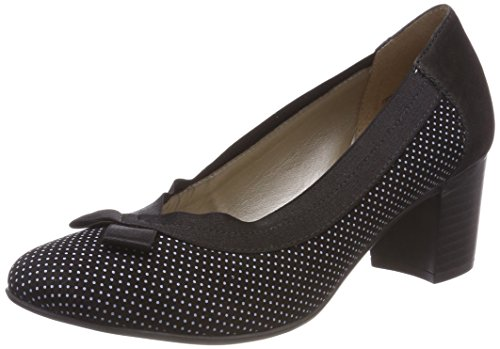 Remonte Women's D0809 Closed-Toe Pumps Black (Schwarz/Weiss) the cheapest cheap online 100% authentic cheap price discount new arrival cheap from china outlet prices NINcGKAgn