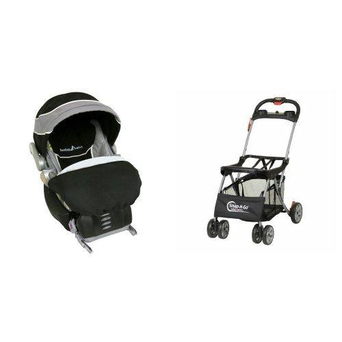 Baby Trend Side By Side Stroller - 8