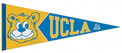 NCAA UCLA Bruins Premium Retro Pennant, 12 x 30 inches