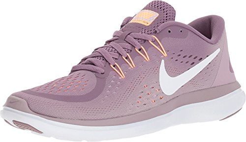 - Nike Women's Flex 2017 RN Running Shoe Violet Dust/White/Plum Fog/Iced Lilac Size 11 M US