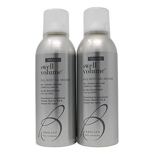 Price comparison product image Brocato Swell Volume Full Body Gel Mousse 5 oz (Set of 2)