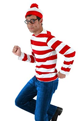 Elope Where's Waldo Costume Kit
