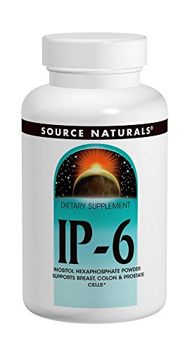 - Ip-6 Inositol Hexaphosphate Powder Source Naturals, Inc. 100 gm Powder