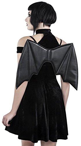 Kleid schwarz DRESS NIGHTS TOKYO Schwarz Killstar HUNTER dRUBFnd6