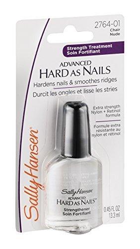 - Sally Hansen Hard As Nails With Nylon Nude 0.45 Ounce Blister (13ml) (2 Pack)