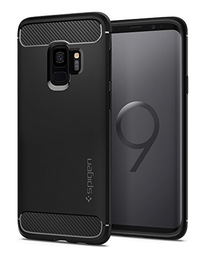 Spigen Rugged Armor Galaxy S9 Case with Flexible...