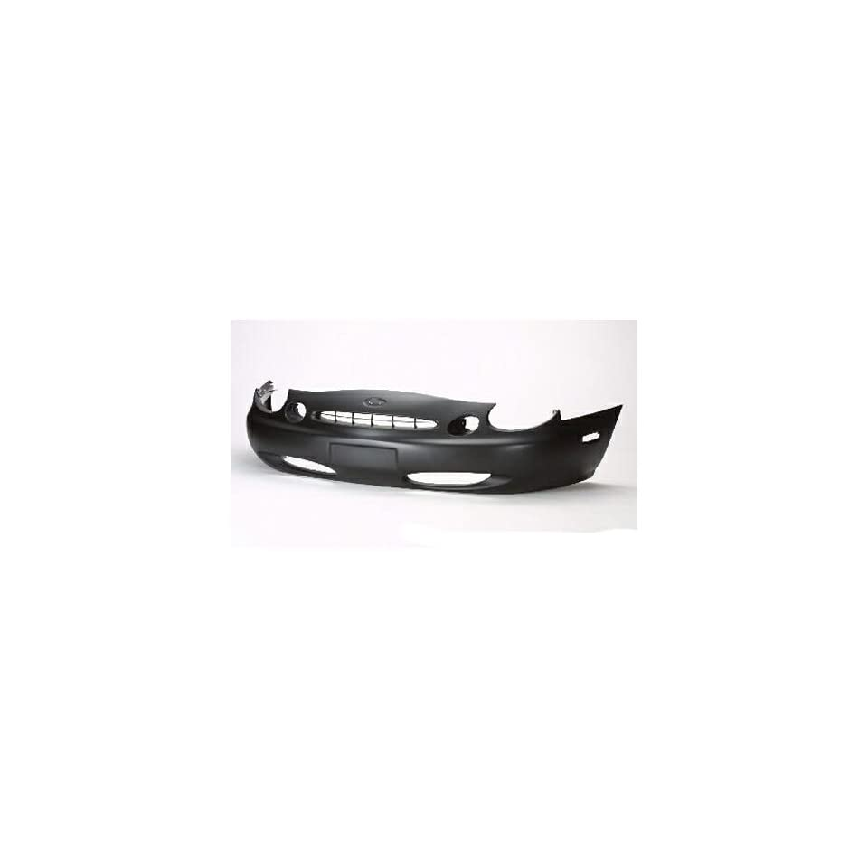 FORD TAURUS Front bumper cover except SHO; 1996 1997