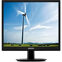 Philips 19S4lsb5 19 Led Lcd Monitor . 5:4 . Adjustable Display Angle . 1280 X 1024 . Sxga . Dvi . Vga . Matte Black Product Type: Computer Displays/Monitors