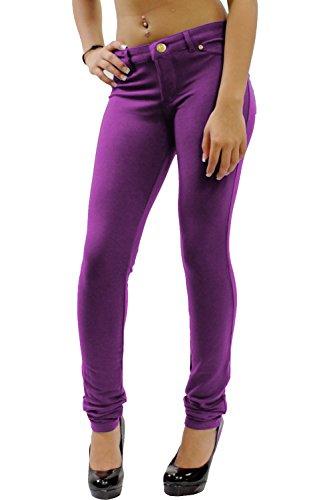 Outlet Donna Ware Jeans Home Purple 5q6RTxFw