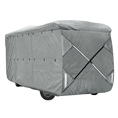 Class A Motorhomes - XGear Outdoors Class A RV Cover, Fits 28' - 30' Class A Motorhome, with 3-Ply Roof for Max Weather Protection, Grey