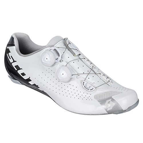 Scarpa Da Ciclismo Da Uomo Rc Sports Mens 2016 Rc - 242132-4318 (bianco / Nero Lucido - 38,0)