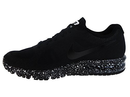 Nike Men's Air Max Sequent Black/White Nylon Running Shoes 10.5 M US cheap classic 2014 sale online free shipping low shipping clearance best store to get lRlavrY8