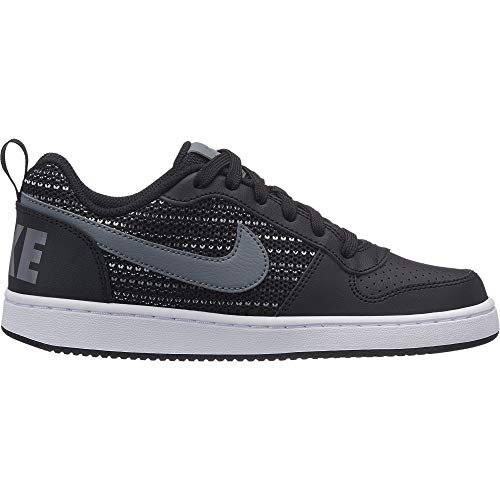 001 Court Basses black Grey Se cool Sneakers Low Borough Nike anthracite wolf Homme gs Grey Multicolore HpqZS