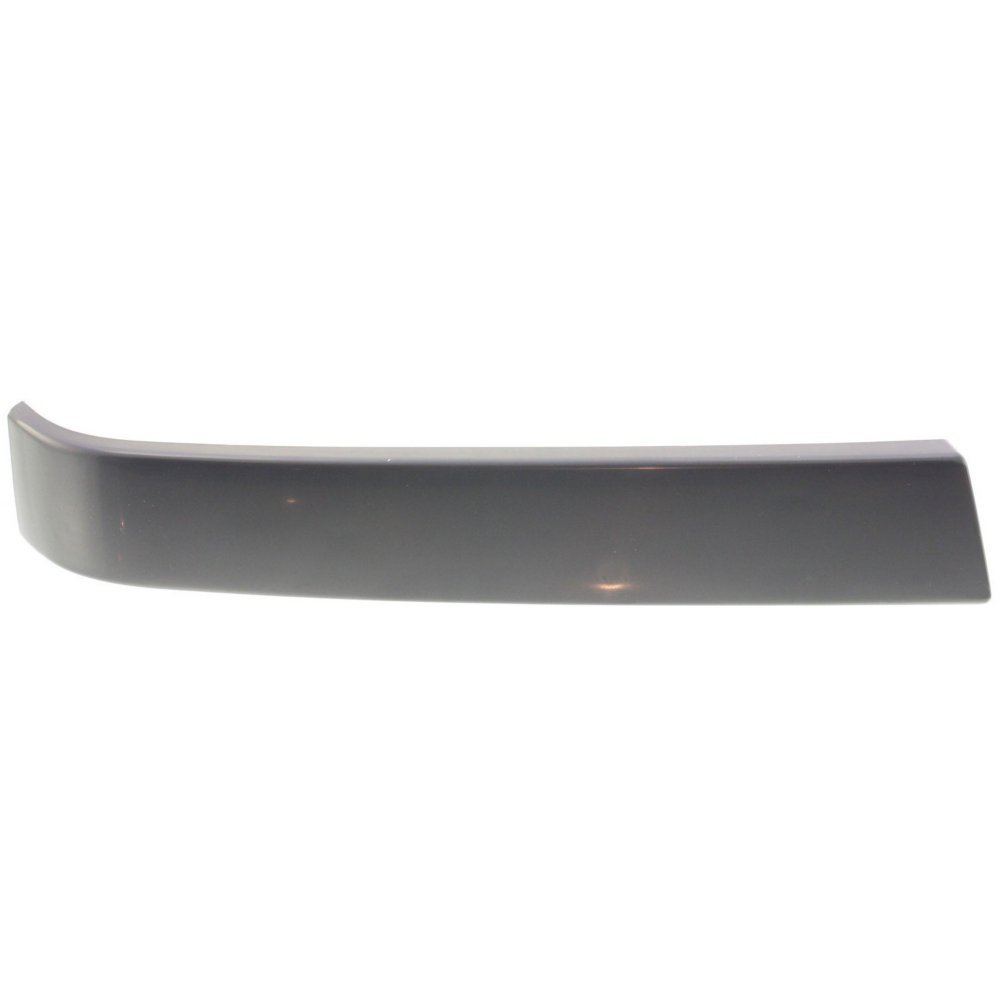 Grille Molding for Chevrolet Silverado 1500 Classic 07 RH and LH Smooth Black Left and Right Side