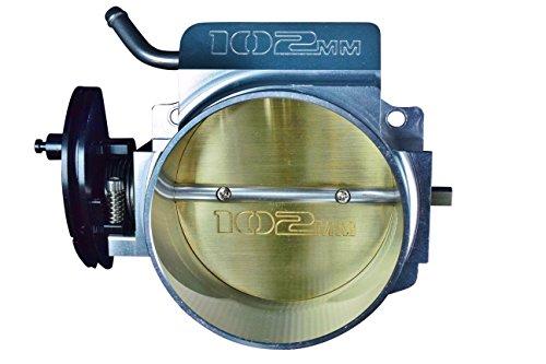 LS 4 Bolt Billet Aluminum Throttle Body 102mm Fabricated ICT Billet Intake LS1 LS2 LS3 LSX, (Billet Aluminum Body)