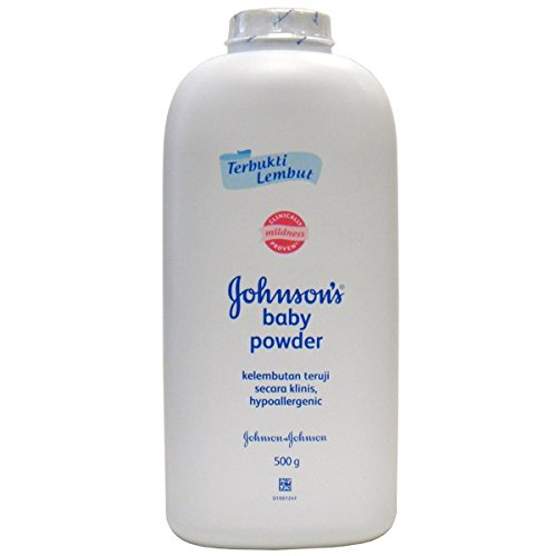 J & J Baby Powder 500g Regular , Case of 48