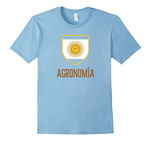 Men's Agronomia, Buenos Aires, Argentina - Argentino Shirt 3XL Baby Blue