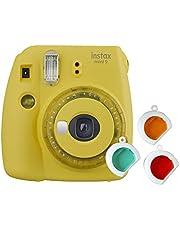 Fujifilm instax Mini 9, met kleurlenzen, geel, Kompakt
